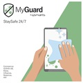 MyGuard StaySafe 24/7 Surface Disinfectant Wipes - 12 pcs
