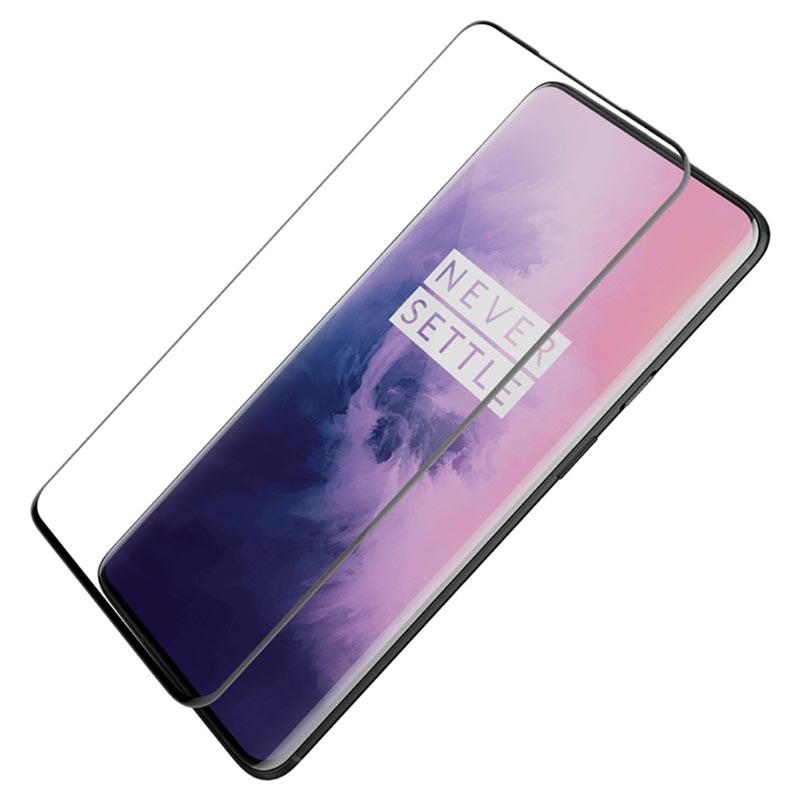 Nillkin 3D CP+ MAX OnePlus 7 Pro, 7T Pro Tempered Glass Screen Protector - Black