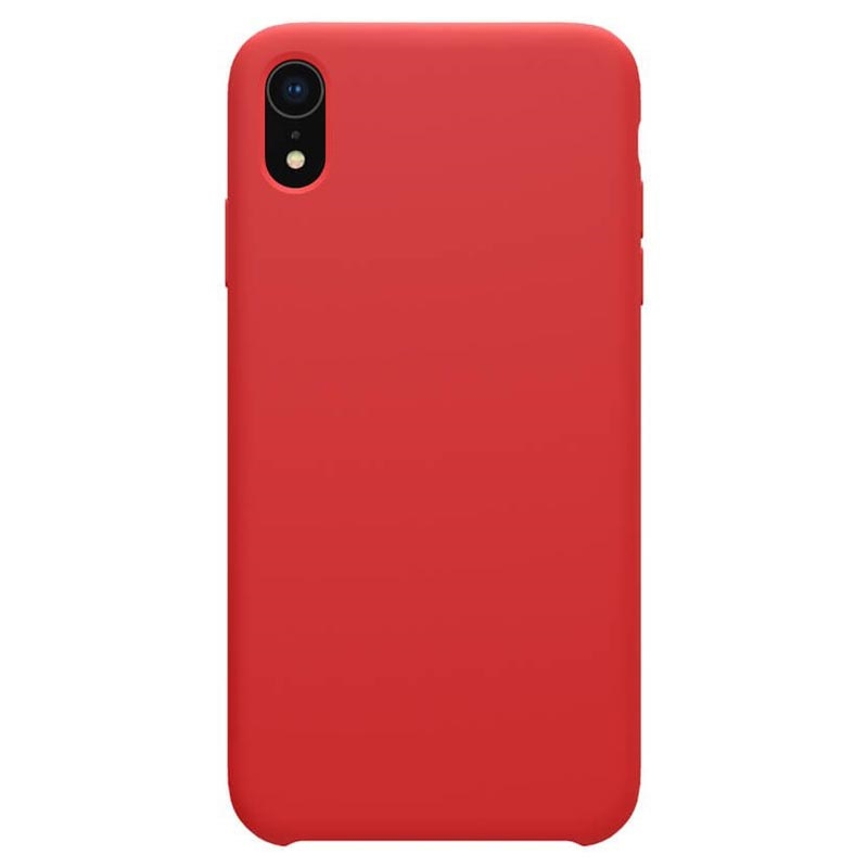 Nillkin Flex Pure iPhone XR Liquid Silicone Case - Red