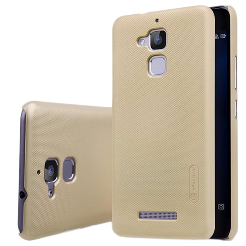 asus zenfone 3 max zc520tl nillkin frosted cover gold. Black Bedroom Furniture Sets. Home Design Ideas
