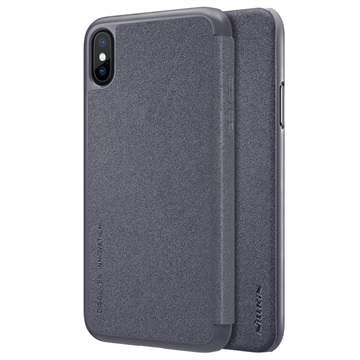 iPhone X / iPhone XS Nillkin Sparkle Series Flip Case