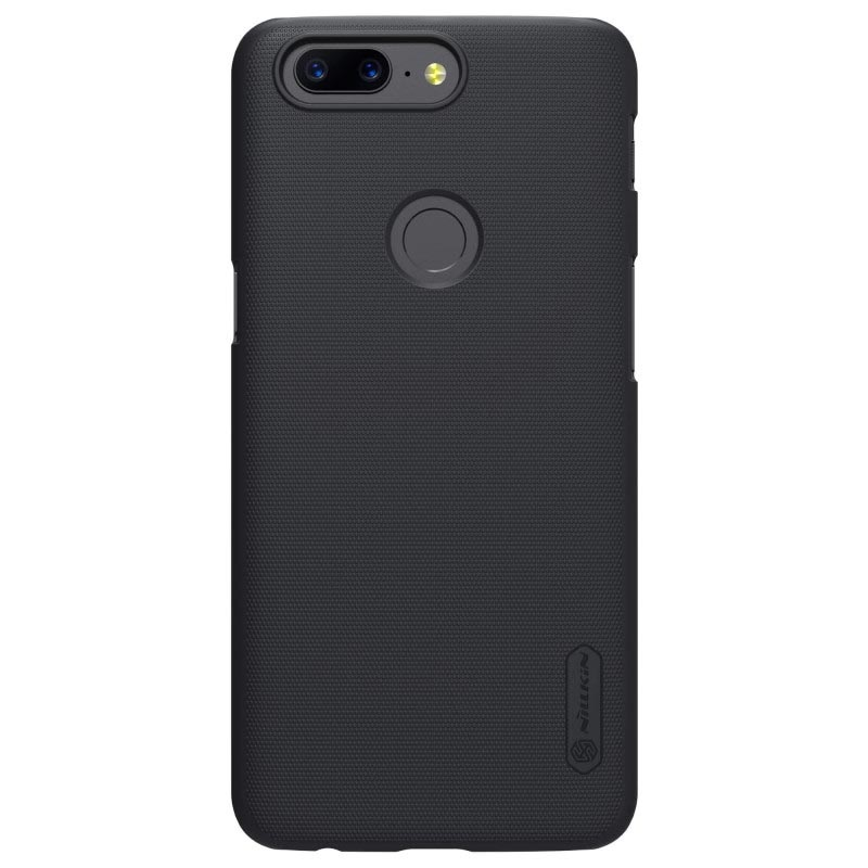 OnePlus 5T Nillkin Super Frosted Shield Case - Black