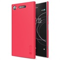 Sony Xperia XZ1 Nillkin Super Frosted Shield Case - Red