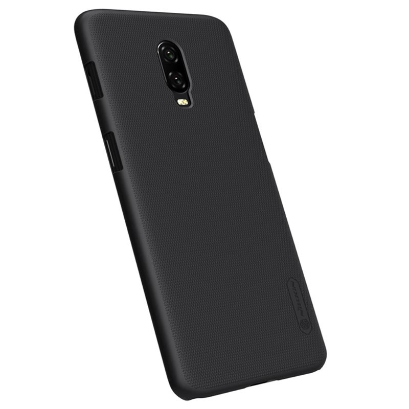 Nillkin Super Frosted Shield OnePlus 6T Cover - Black