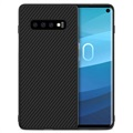 Nillkin Synthetic Carbon Fiber Samsung Galaxy S10 Case - Black