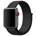Apple Watch Series 5/4/3/2/1 Nylon Strap - 40mm, 38mm - Black