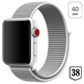 Apple Watch Series 4/3/2/1 Nylon Strap - 40mm, 38mm - White