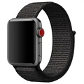 Apple Watch Series 5/4/3/2/1 Nylon Strap - 44mm, 42mm - Black
