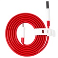OnePlus Warp Charge Type-C Cable 5461100011 - 1m - Red / White