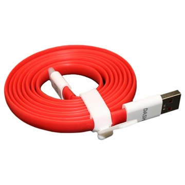 OnePlus USB-C Cable - Red / White - 1,5m