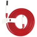 OnePlus USB-C Cable - Red / White