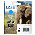 Epson 24 Ink Cartridge C13T24224010 - Cyan