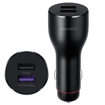 Huawei CP37 SuperCharge 2.0 Fast Car Charger 55030349- 6A - Black