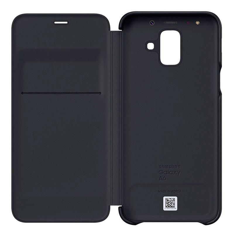 wholesale dealer fc8f5 bb1a7 Samsung Galaxy A6 (2018) Wallet Cover EF-WA600CBEGWW