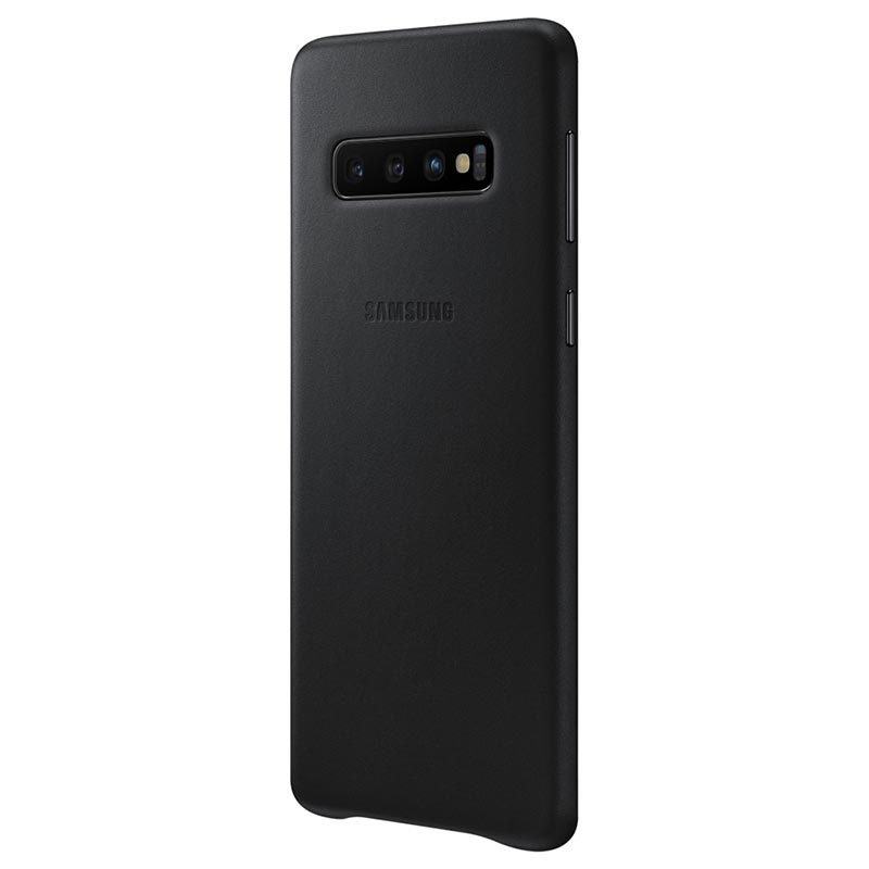 Samsung Galaxy S10 Leather Cover EF-VG973LBEGWW - Black