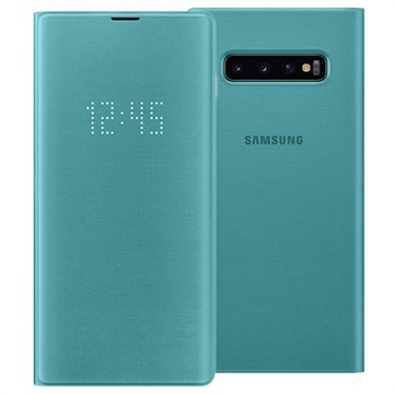 Samsung Galaxy S10+ LED View Cover EF-NG975PGEGWW - Green