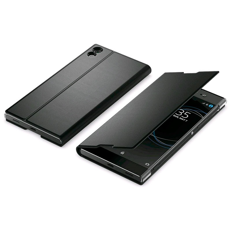 sony xperia xa1 ultra style cover stand scsg40 black. Black Bedroom Furniture Sets. Home Design Ideas