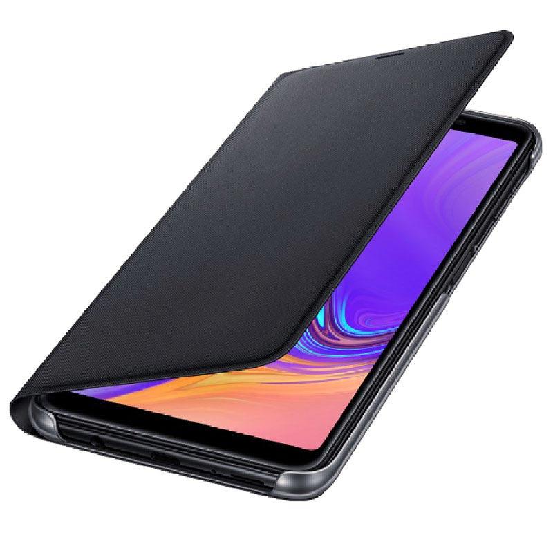 brand new 54d15 e35c6 Samsung Galaxy A7 (2018) Wallet Cover EF-WA750PBEGWW