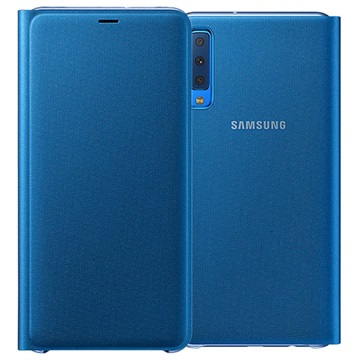 Samsung Galaxy A7 (2018) Wallet Cover EF-WA750PLEGWW - Blue