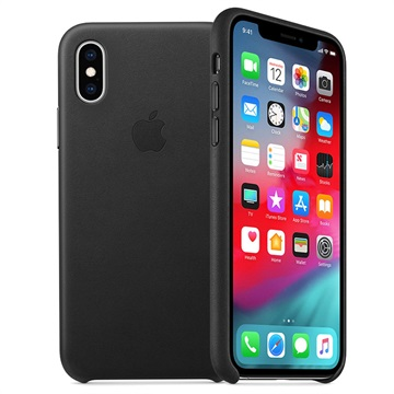 new styles 9d7d3 481b4 iPhone XS Apple Leather Case MRWM2ZM/A