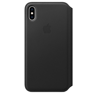 iPhone XS Max Apple Leather Folio Case MRX22ZM/A