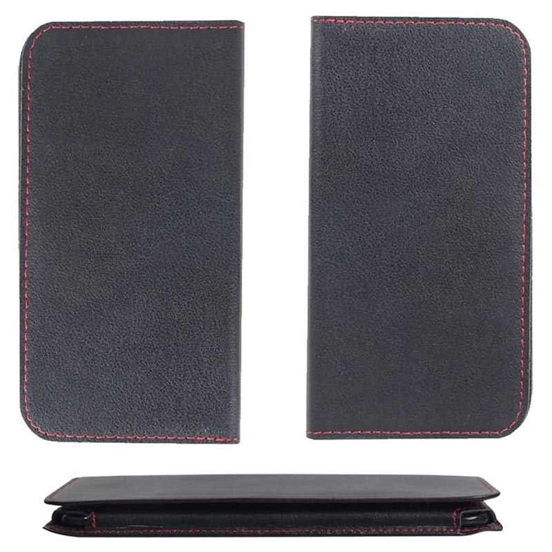 PDair Honor View 20 Wallet Leather Case - Black