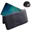 PDair Samsung Galaxy S10+ Wallet Leather Case - Black