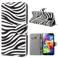 Samsung Galaxy S5 Style Series Wallet Leather Case