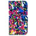 iPhone 4 / 4S Wallet Leather Case - Colorful
