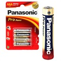 Panasonic Pro Power AAA Battery LR03PPG - 1.5V - 1x4