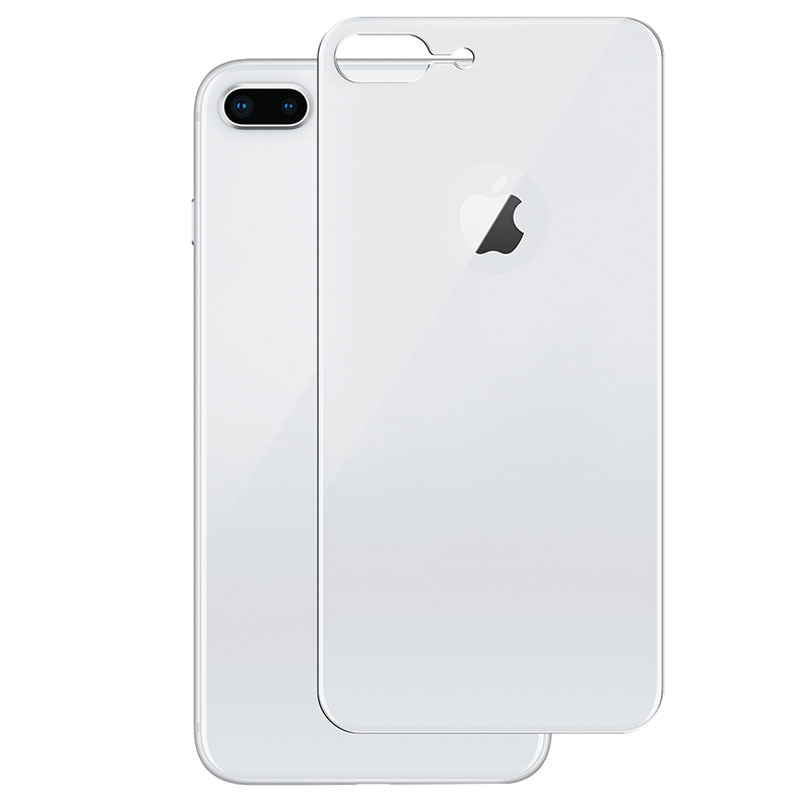 iPhone 8 Plus Panzer Curved Silicate Glass Back Cover Protector