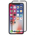 iPhone X Panzer Full-Fit Tempered Glass Screen Protector - Black