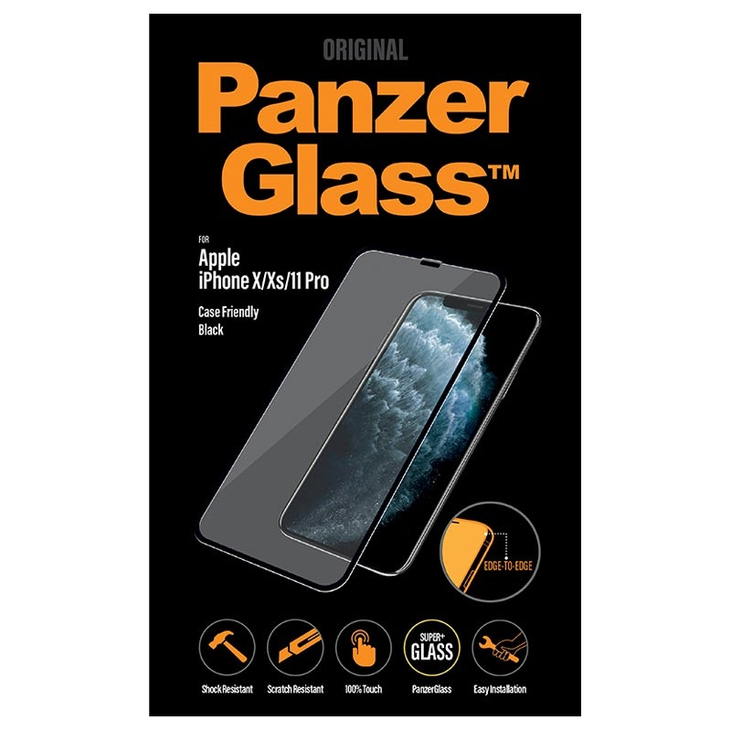 PanzerGlass Case Friendly iPhone 11 Pro Tempered Glass Screen Protector