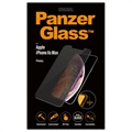 PanzerGlass Privacy iPhone XS Max Tempered Glass Screen Protector - Clear