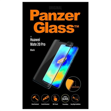 PanzerGlass Huawei Mate 20 Pro Tempered Glass Screen Protector - Black