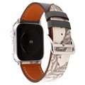 Apple Watch Series 5/4/3/2/1 Pattern Leather Strap - 42mm, 44mm