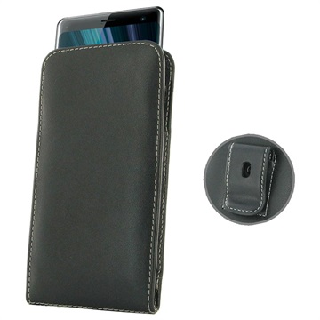 PDair Sony Xperia XZ3 Leather Pouch - Black