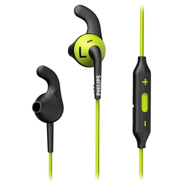 Philips ActionFit RunFree Bluetooth Sports Headphones SHQ6500CL/00 - Green/Black