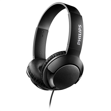 Philips Bass+ On-Ear Headphones SHL3070BK/00 - Black