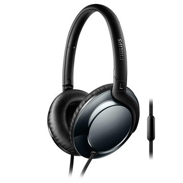 Philips Flite Headphones with Microphone SHL4805DC/00 - Black