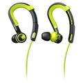 Philips SHQ3400 ActionFit Sports Headphones - Lime Green