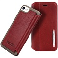 iPhone 7 / iPhone 8 Pierre Cardin Flip Leather Case