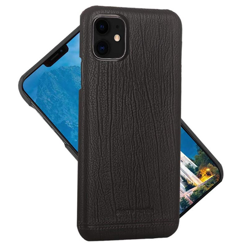 Pierre Cardin iPhone 11 Leather Coated Case
