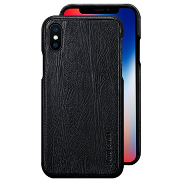 iPhone X Pierre Cardin Leather Coated Case