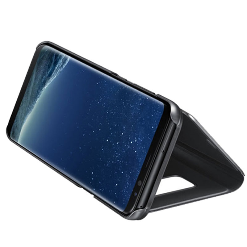 Luxury Series Mirror View Samsung Galaxy Note8 Flip Case