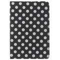 iPad Mini 4 Polka Dot Rotary Case - Black / White