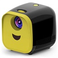 Portable Full HD Mini Projector L1 - 1080p - Black / Yellow