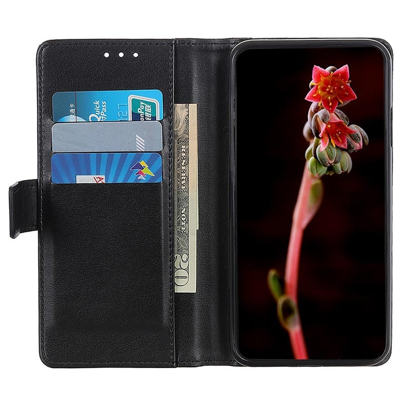 Premium Samsung Galaxy A10 Wallet Case with Kickstand Feature