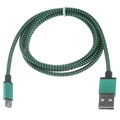Premium USB 2.0 / MicroUSB Cable - 3m - Green