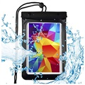 "Premium Universal Waterproof Case for Tablet - 8"" - Black"